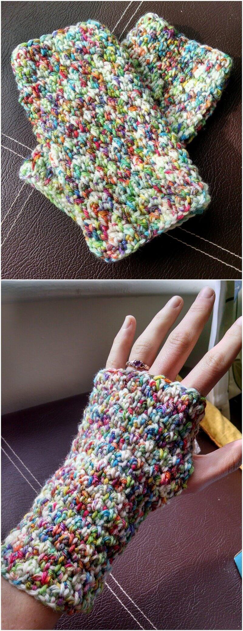 Crochet Gloves Pattern (19)
