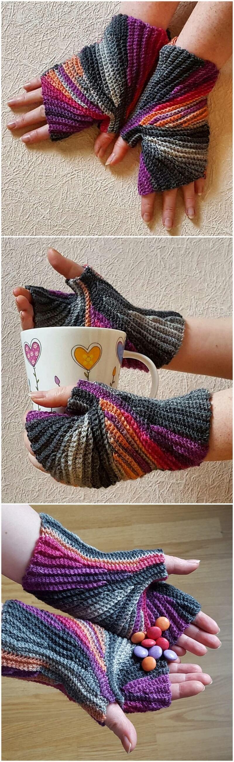 Crochet Gloves Pattern (20)