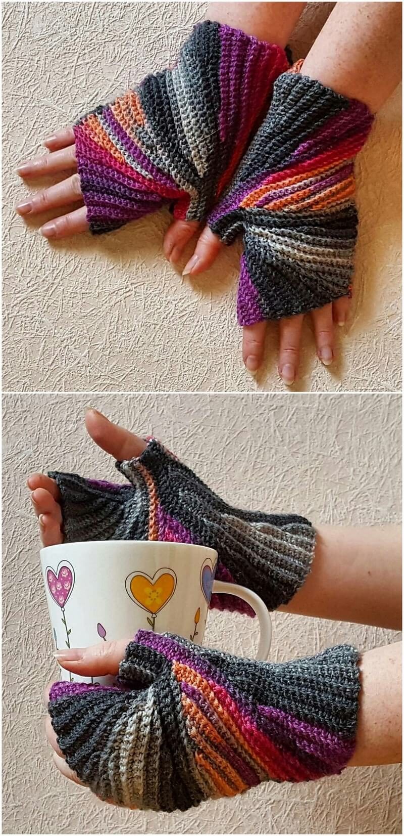 Crochet Gloves Pattern (21)