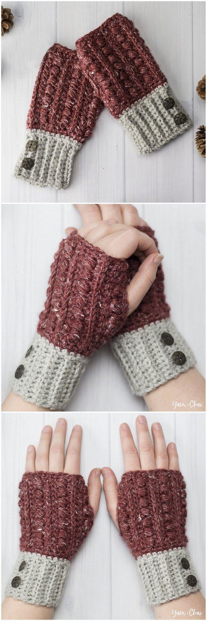 Crochet Gloves Pattern (28)