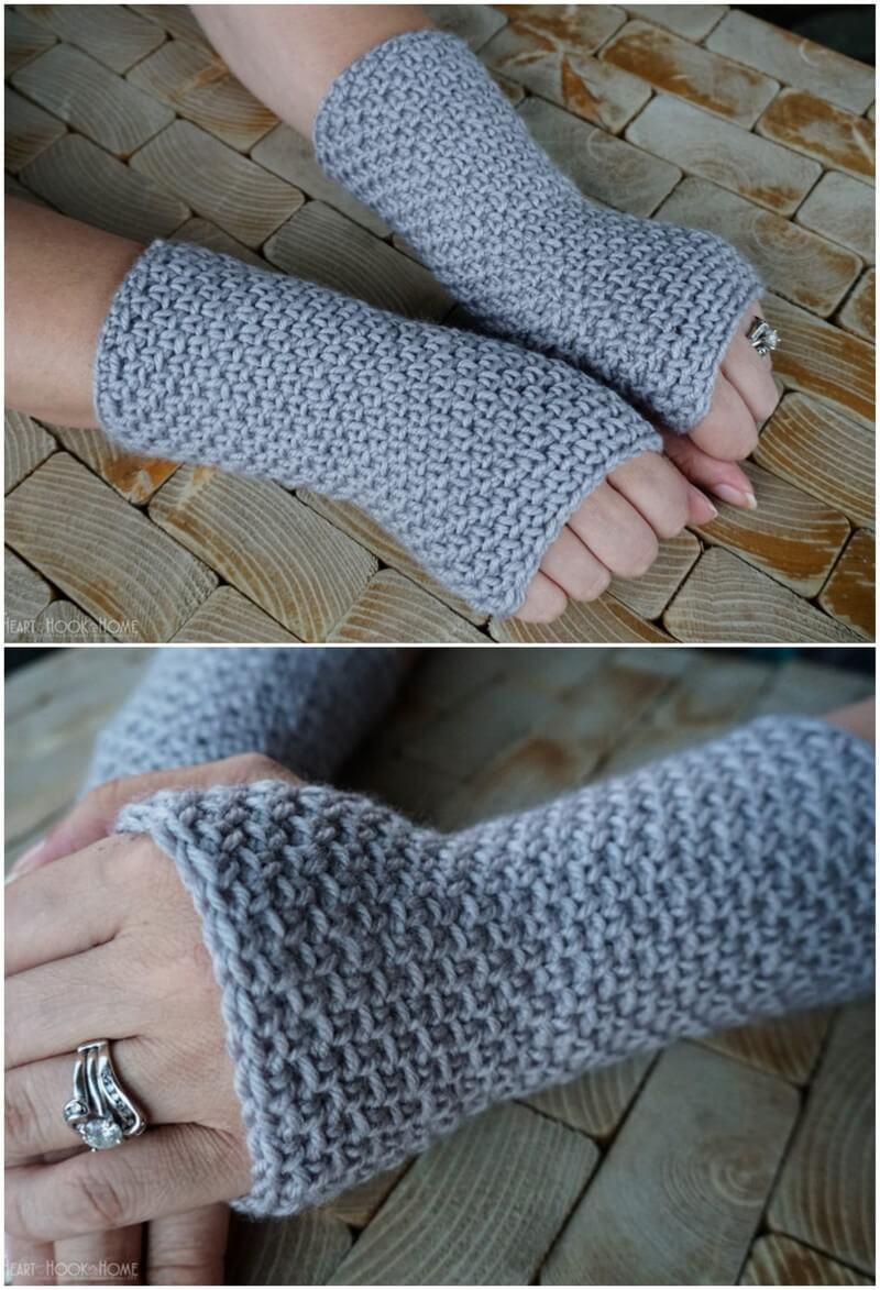 Crochet Gloves Pattern (33)