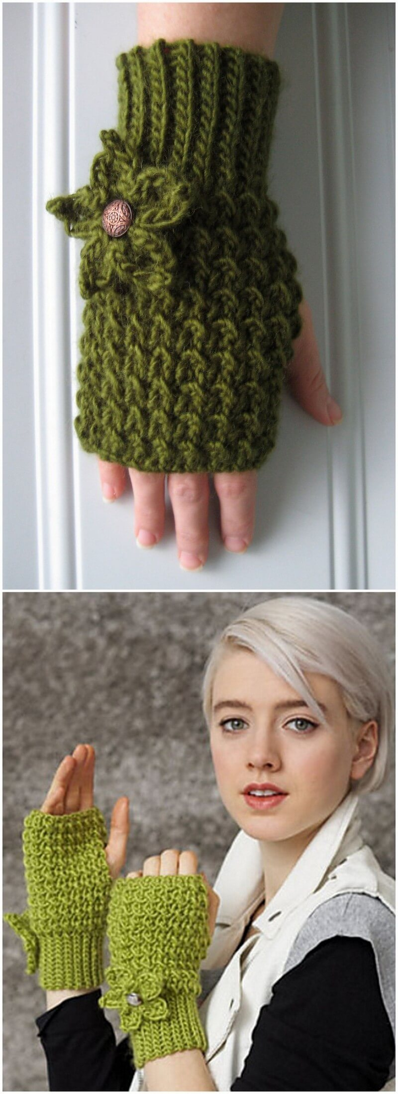 Crochet Gloves Pattern (35)