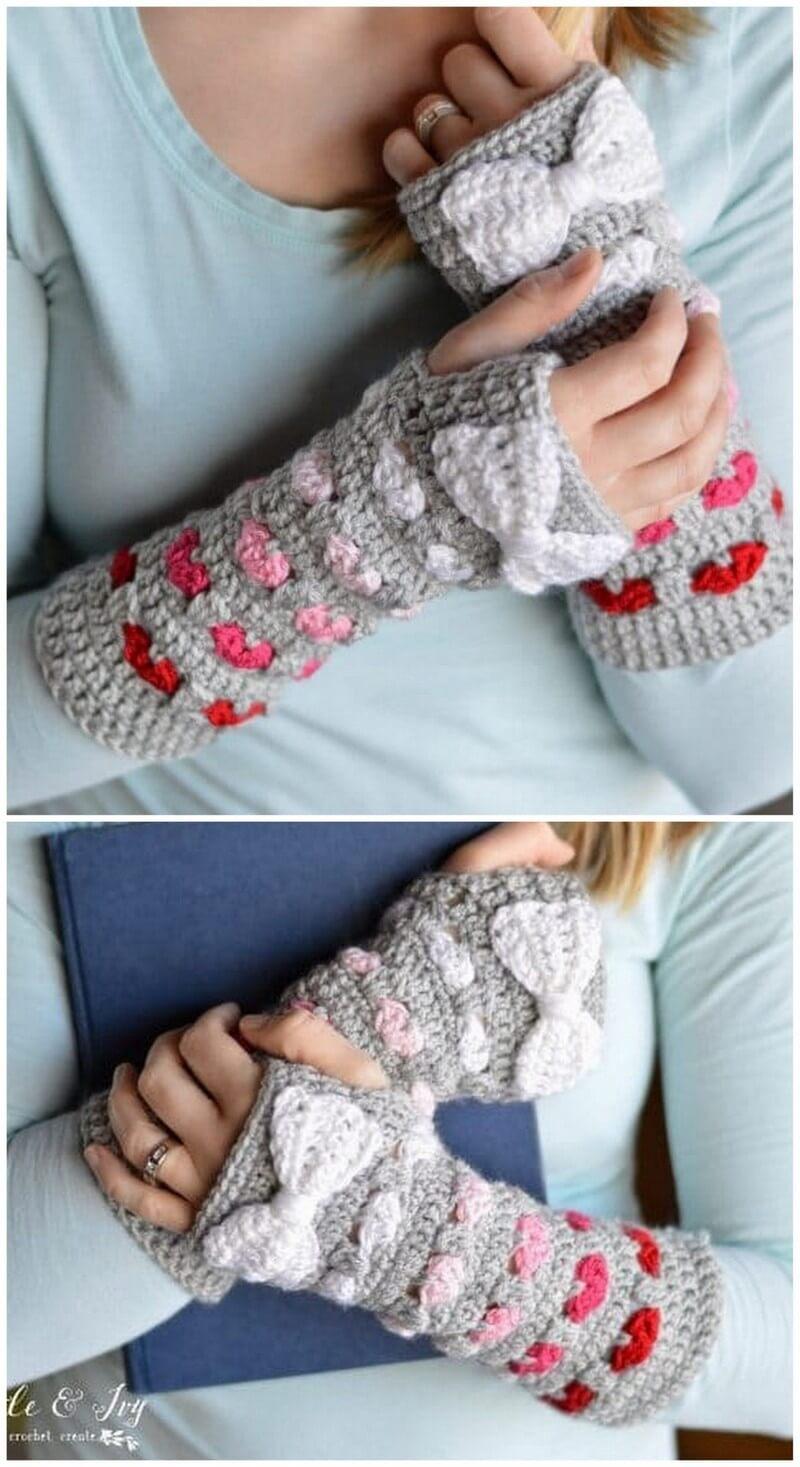 Crochet Gloves Pattern (42)