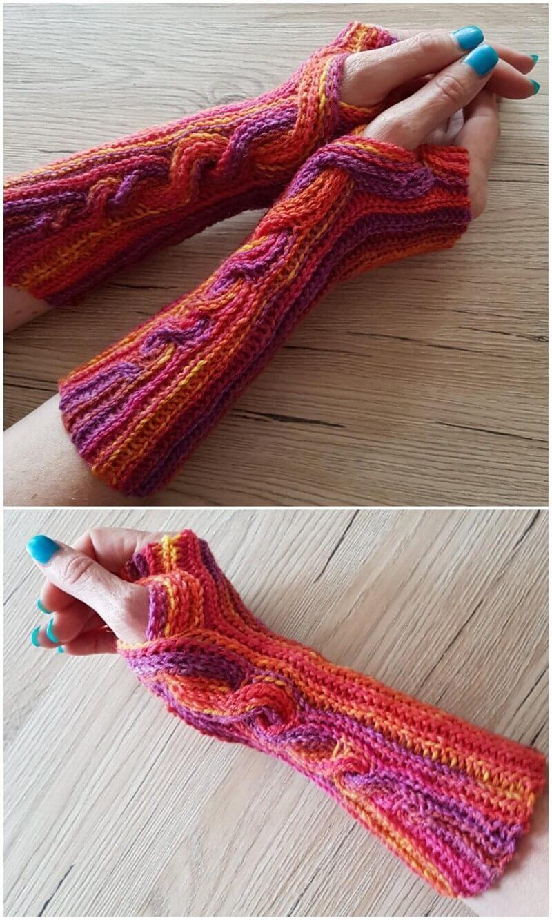 Crochet Gloves Pattern (46)
