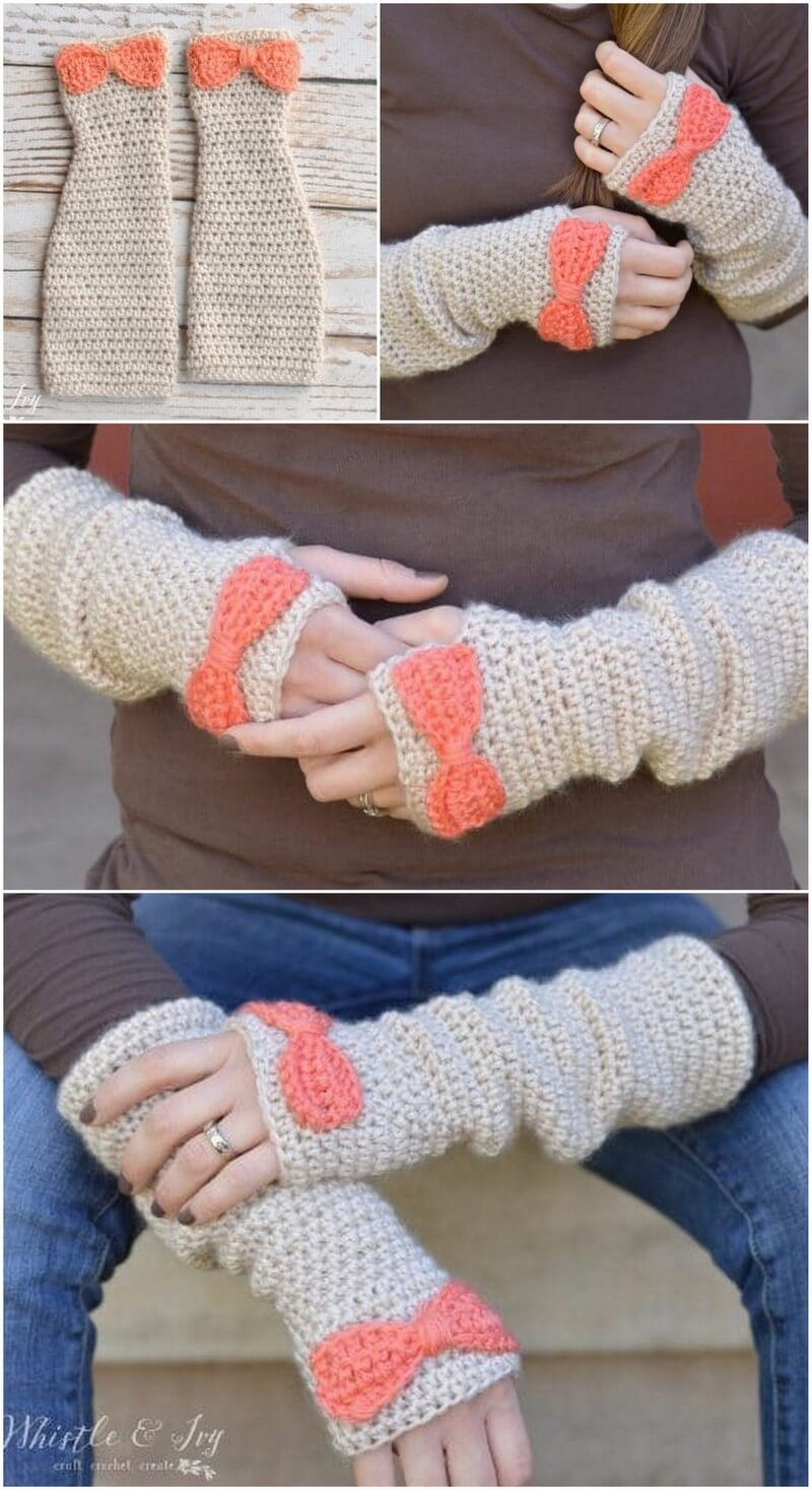 Crochet Gloves Pattern (47)