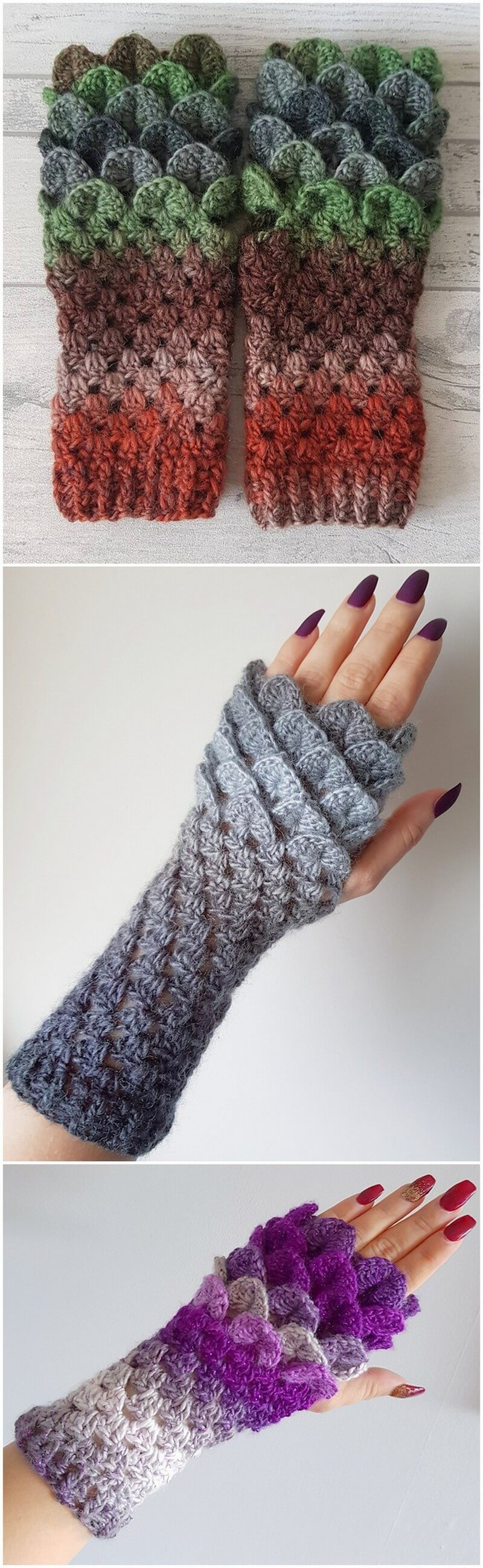 Crochet Gloves Pattern (48)