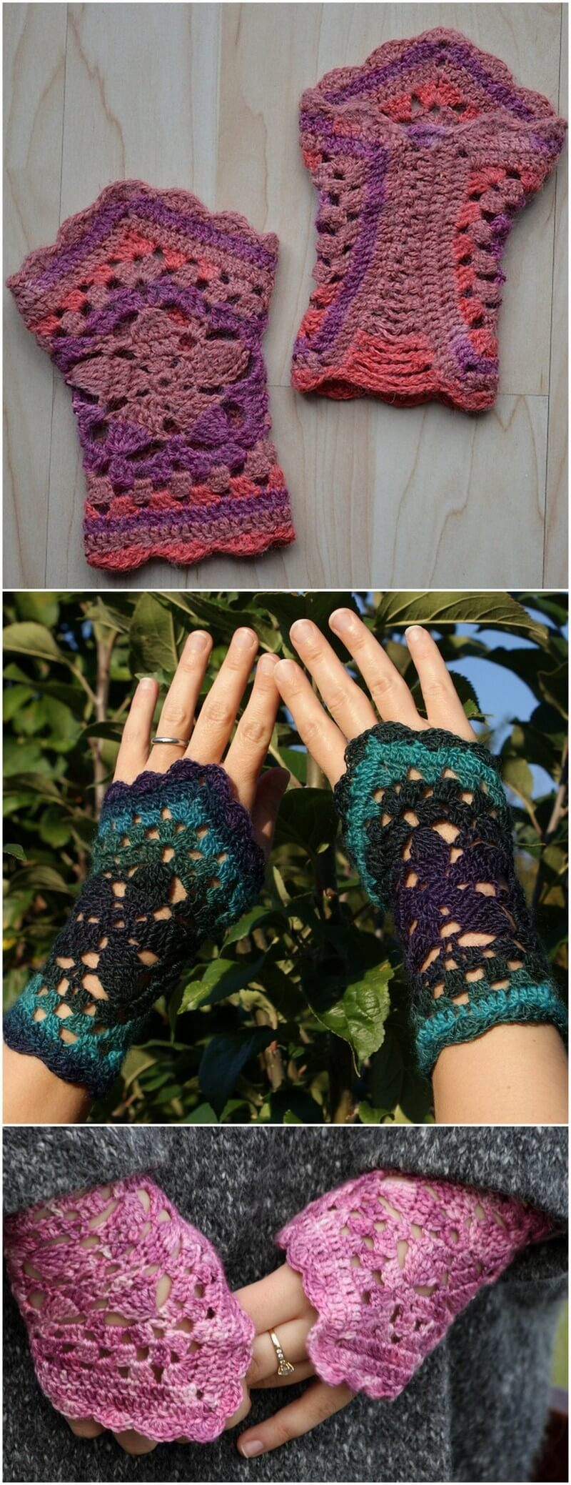 Crochet Gloves Pattern (49)