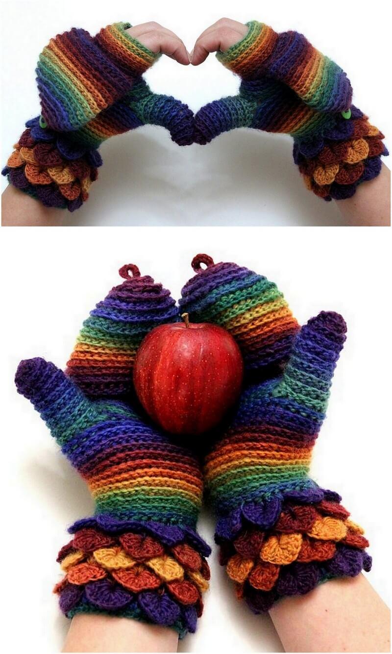 Crochet Gloves Pattern (51)
