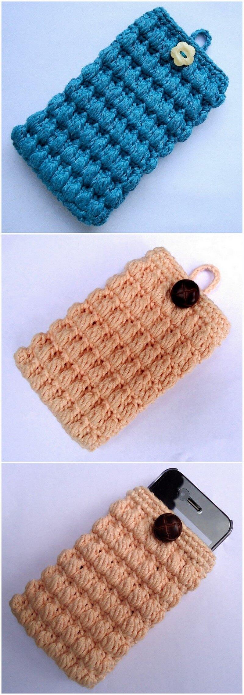 Crochet Mobile Cover Pattern (13)