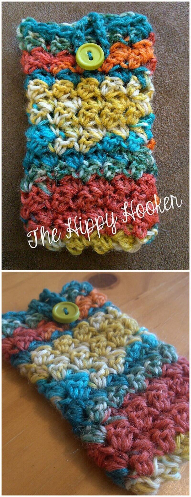 Crochet Mobile Cover Pattern (25)
