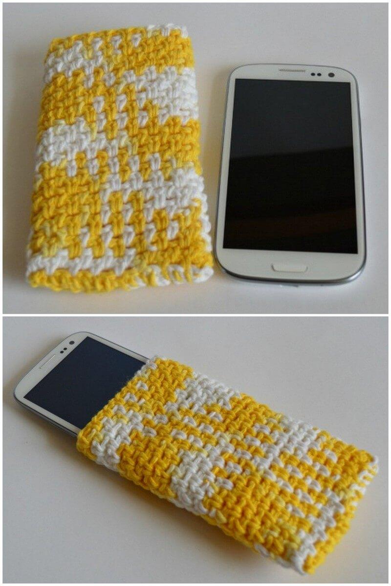 Crochet Mobile Cover Pattern (27)
