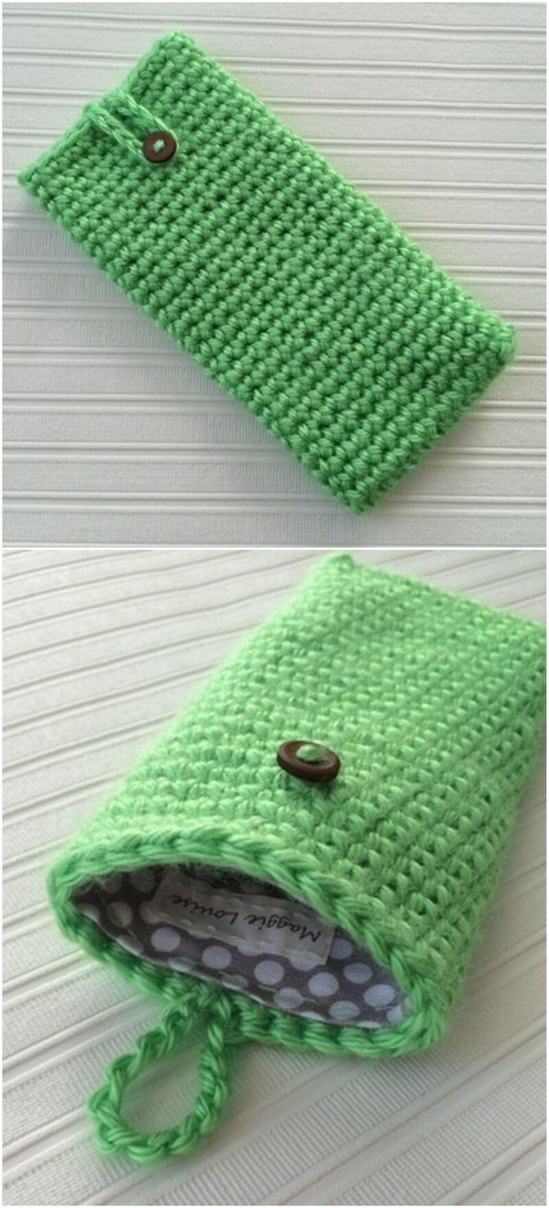 Crochet Mobile Cover Pattern (29)