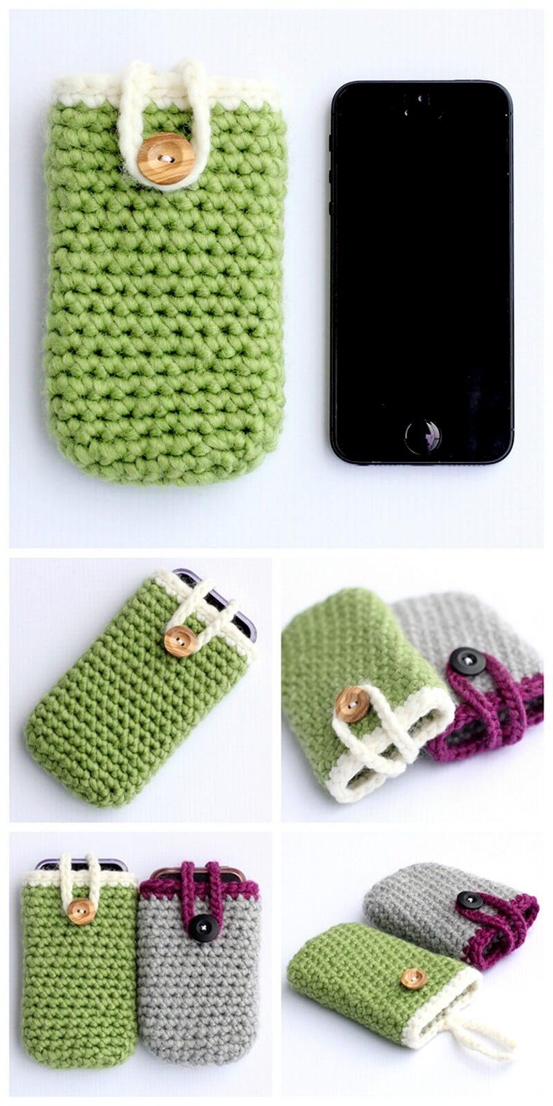 Crochet Mobile Cover Pattern (31)