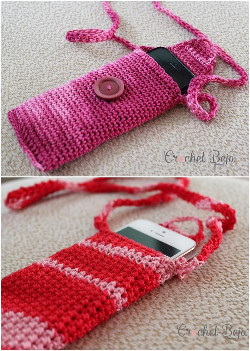 Crochet Mobile Cover Pattern (35)