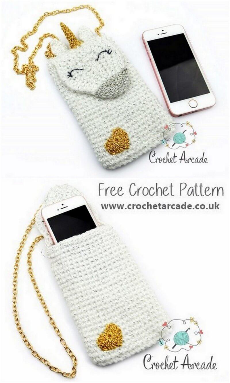 Crochet Mobile Cover Pattern (36)