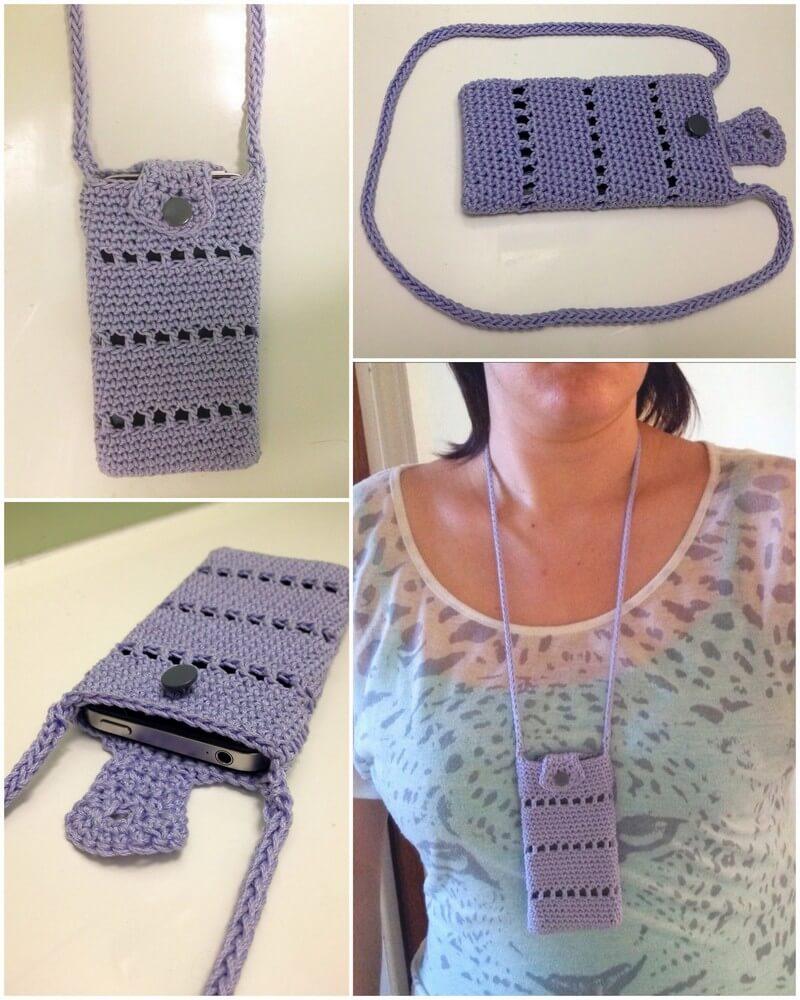 Crochet Mobile Cover Pattern (6)