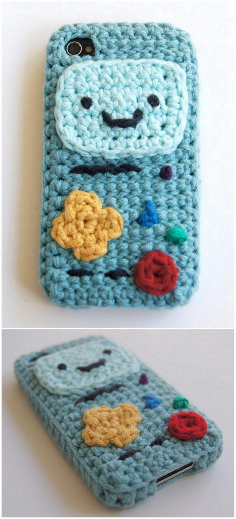 Crochet Mobile Cover Pattern (8)