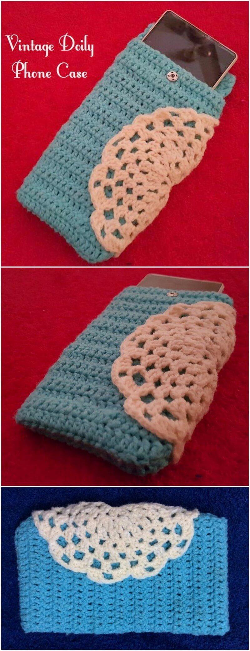Crochet Mobile Cover Pattern (9)