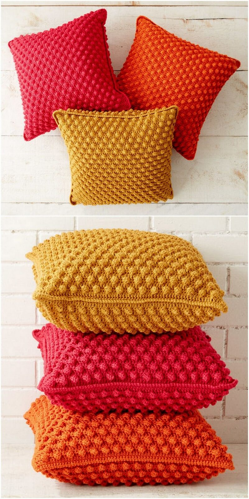 Crochet Pillow Pattern (10)