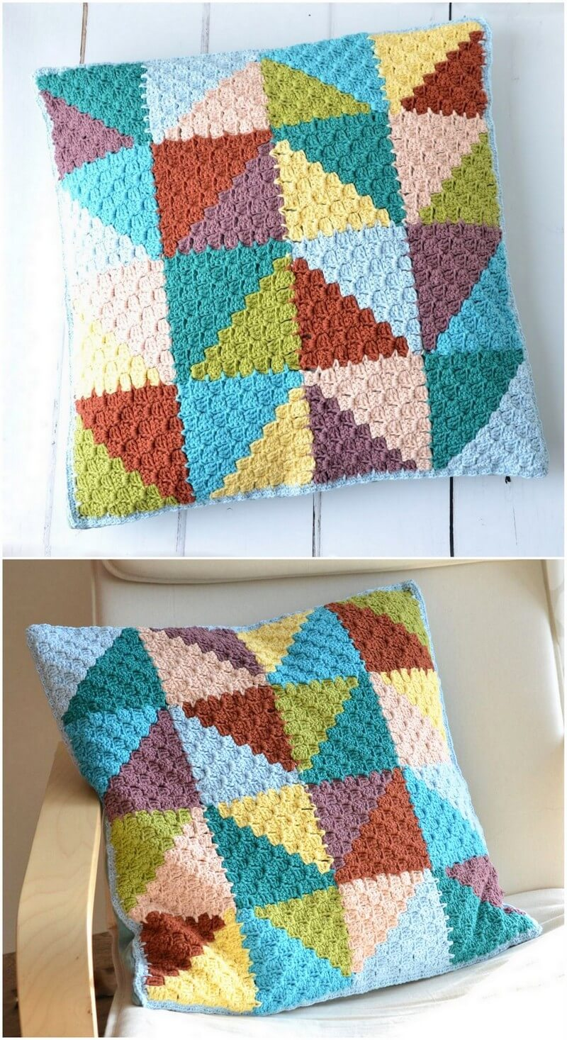 Crochet Pillow Pattern (17)