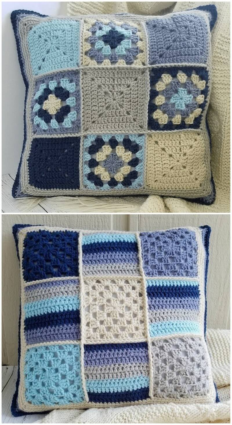 Crochet Pillow Pattern (20)