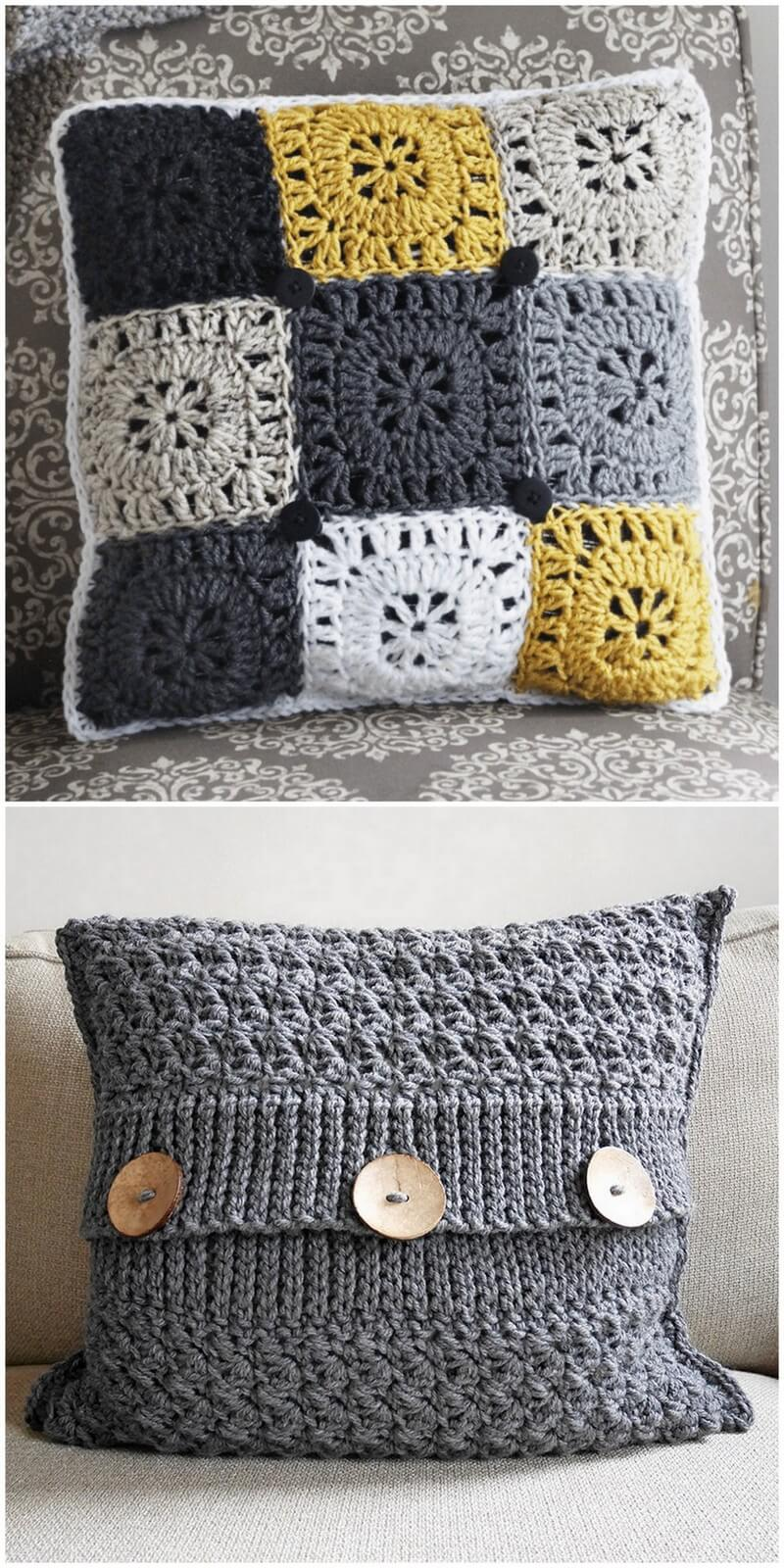 Crochet Pillow Pattern (22)