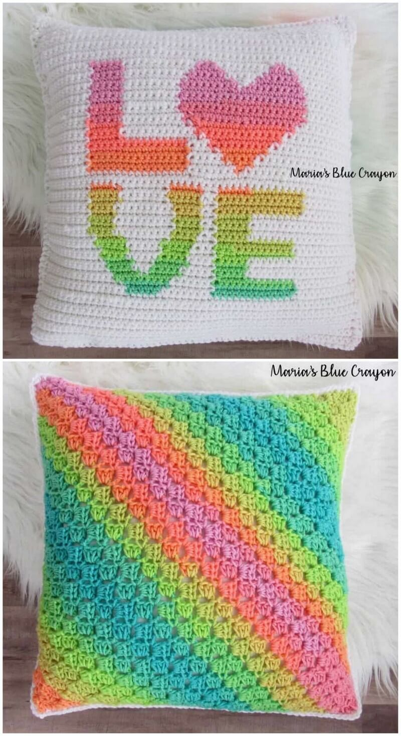 Crochet Pillow Pattern (23)