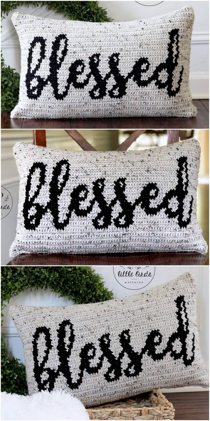 Crochet Pillow Pattern (26)