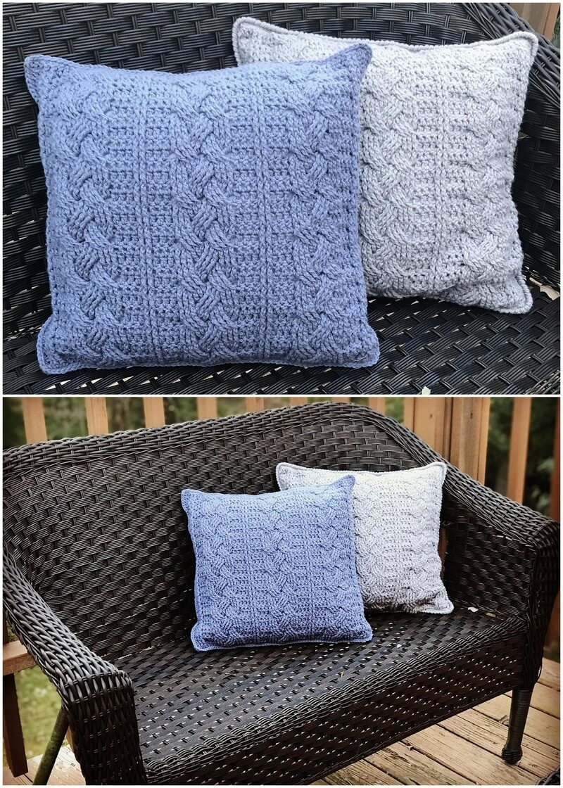Crochet Pillow Pattern (32)