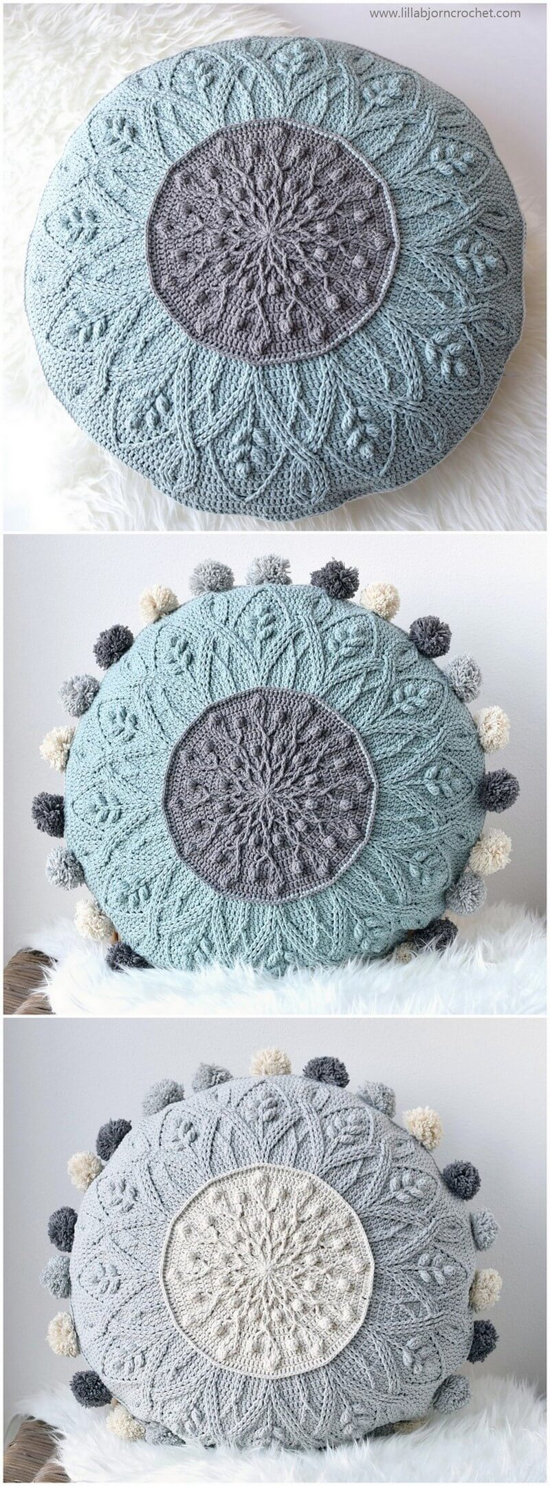 Crochet Pillow Pattern (39)
