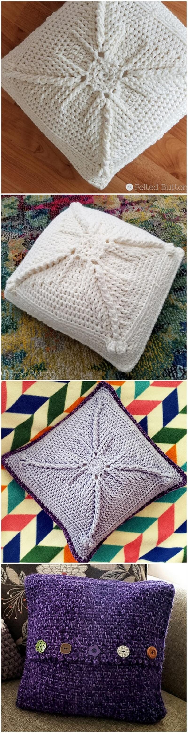 Crochet Pillow Pattern (4)