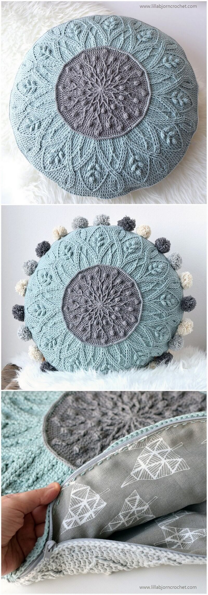 Crochet Pillow Pattern (40)