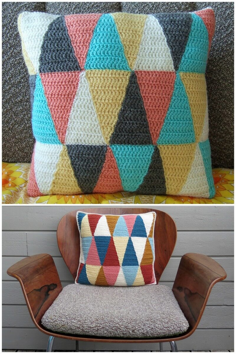 Crochet Pillow Pattern (42)