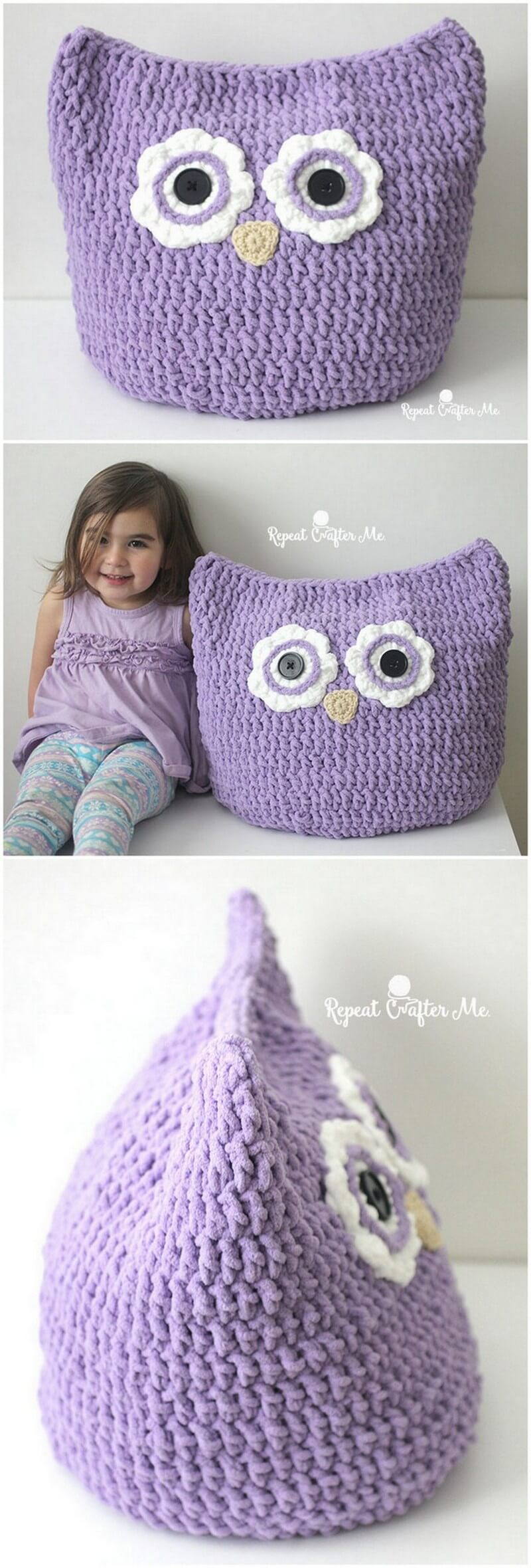 Crochet Pillow Pattern (46)
