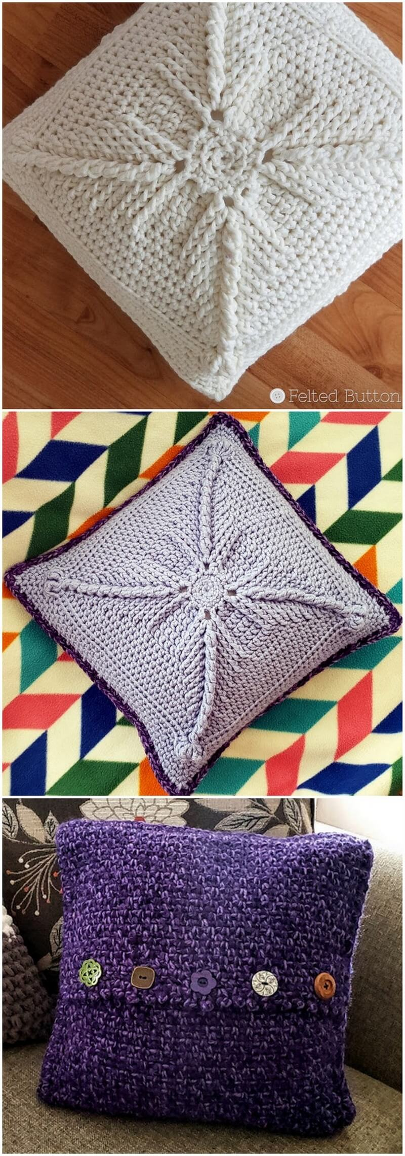 Crochet Pillow Pattern (5)