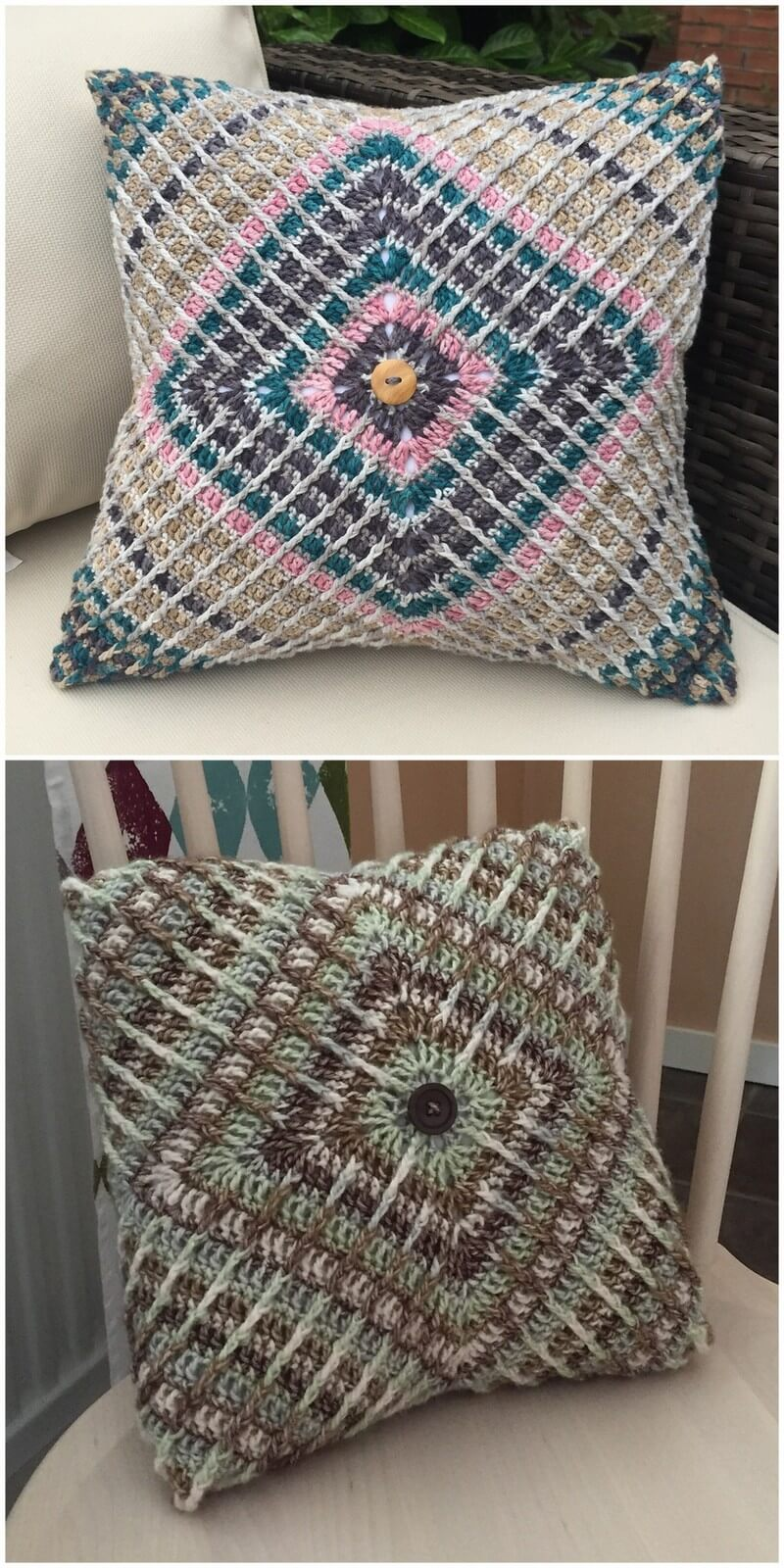 Crochet Pillow Pattern (51)