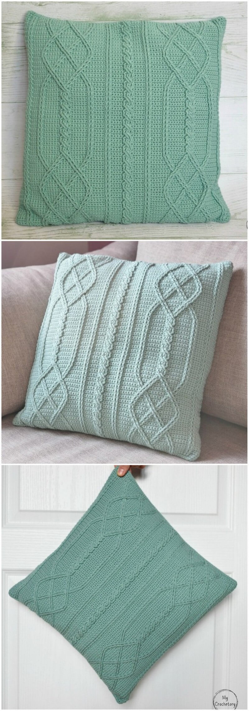 Crochet Pillow Pattern (57)
