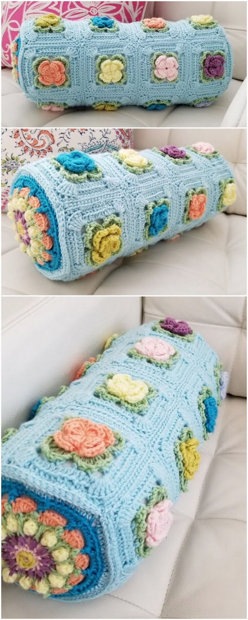 Crochet Pillow Pattern (6)