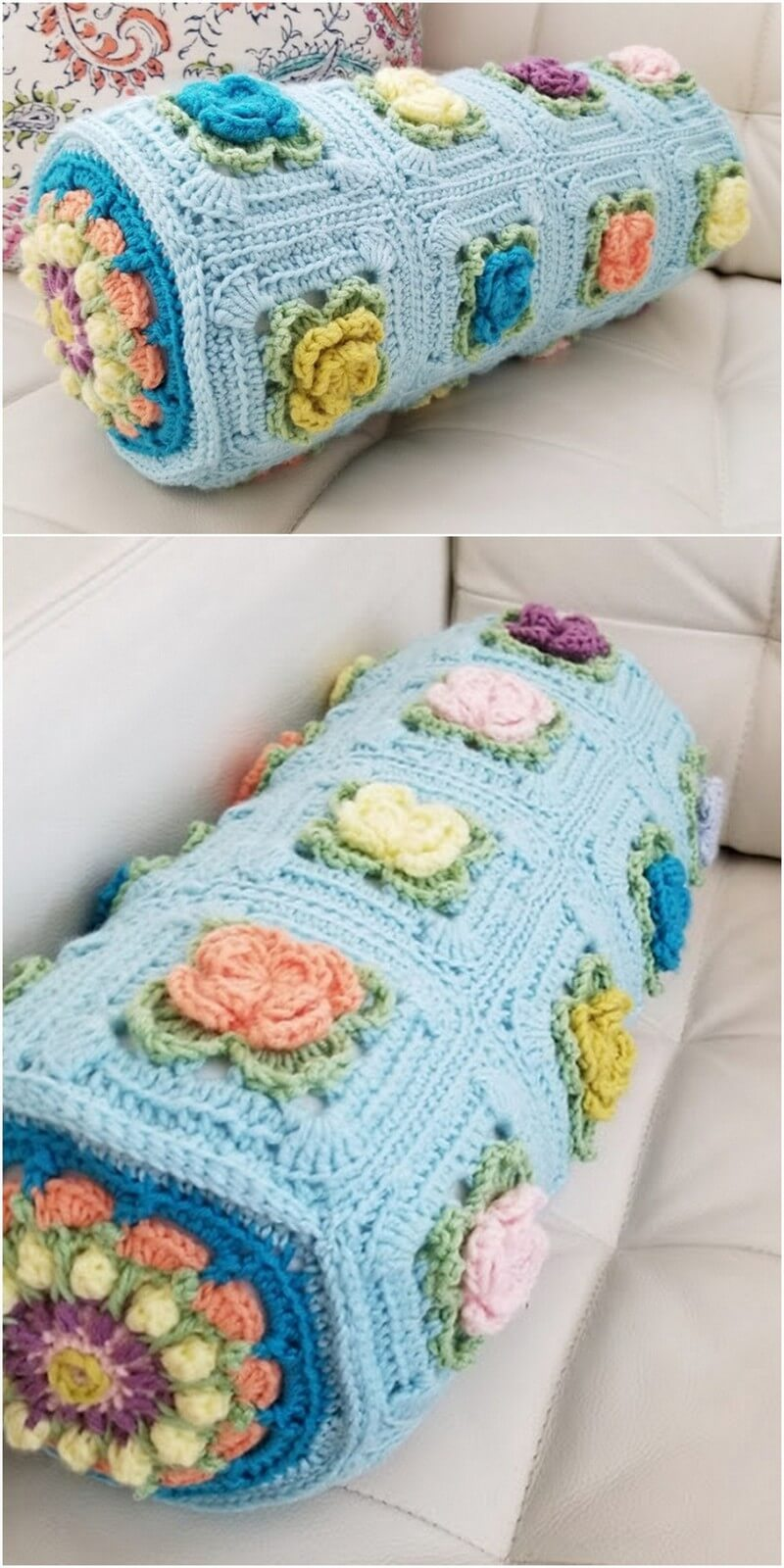 Crochet Pillow Pattern (7)