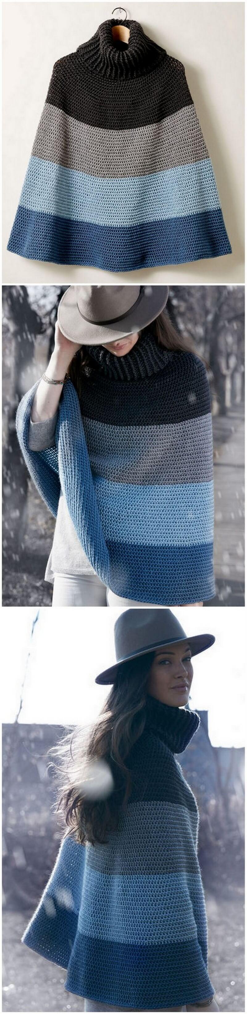 Crochet Poncho Pattern (1)