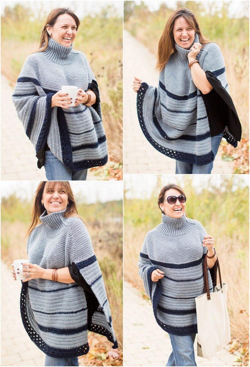 Crochet Poncho Pattern (12)