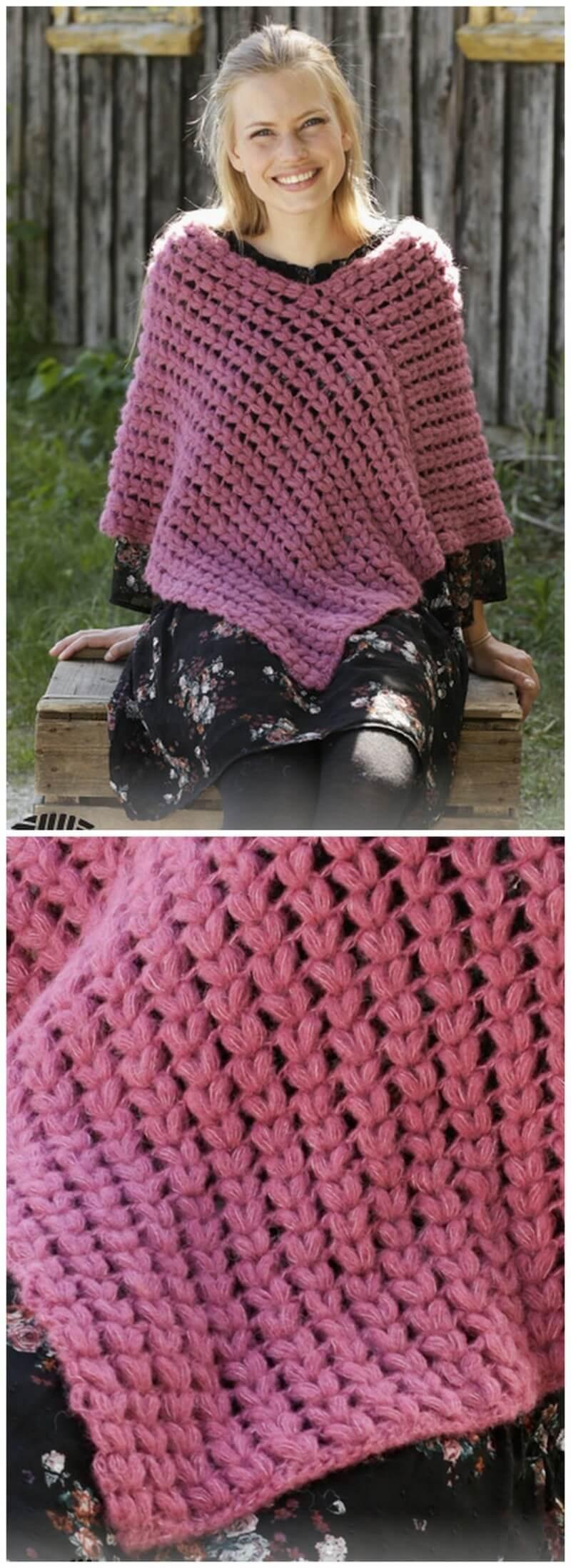 Crochet Poncho Pattern (19)