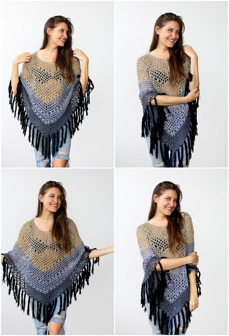 Crochet Poncho Pattern (2)