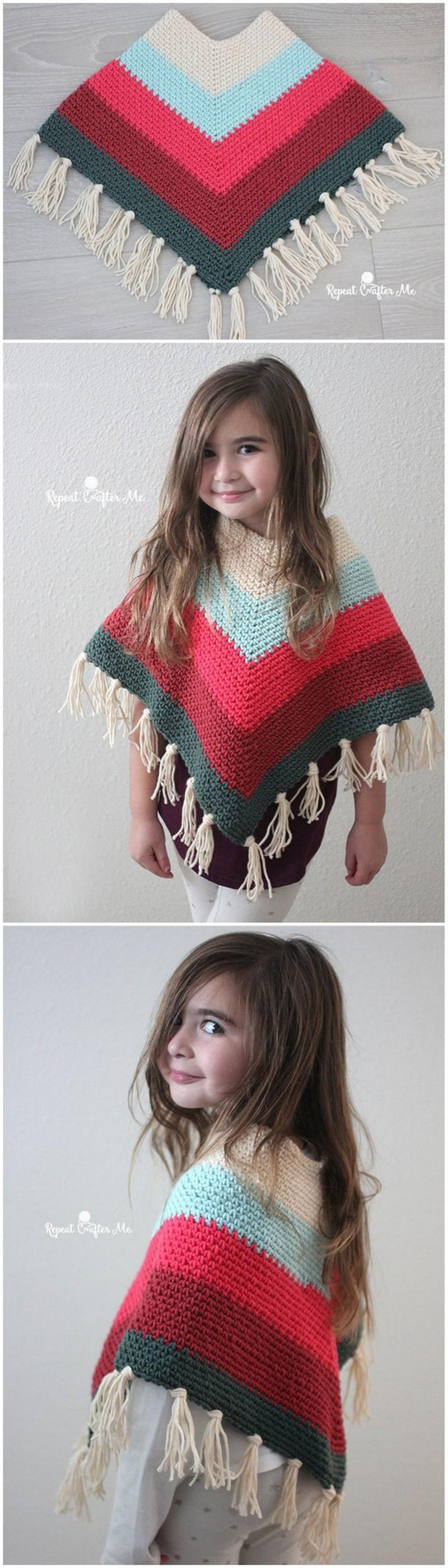 Crochet Poncho Pattern (22)