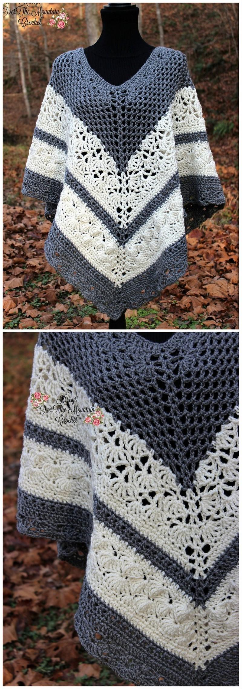 Crochet Poncho Pattern (25)