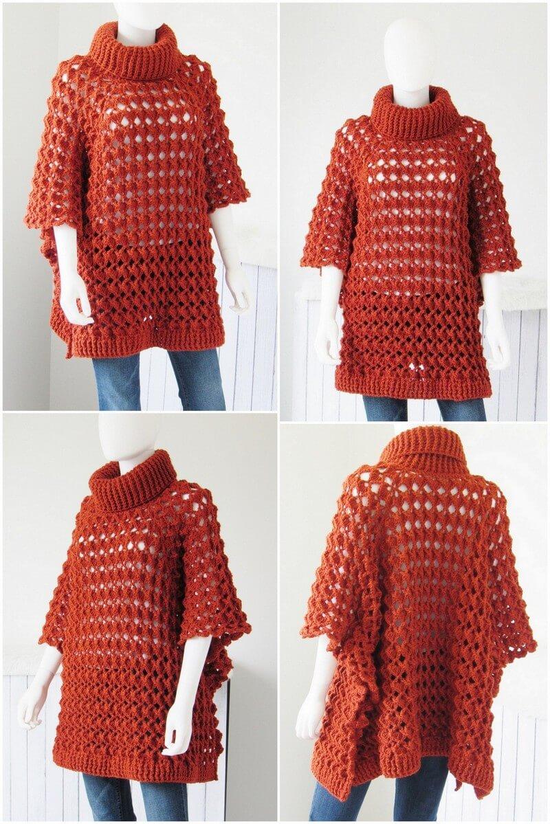 Crochet Poncho Pattern (30)
