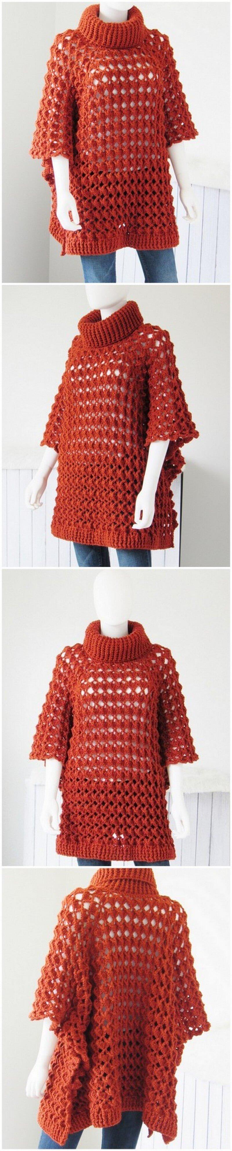 Crochet Poncho Pattern (31)