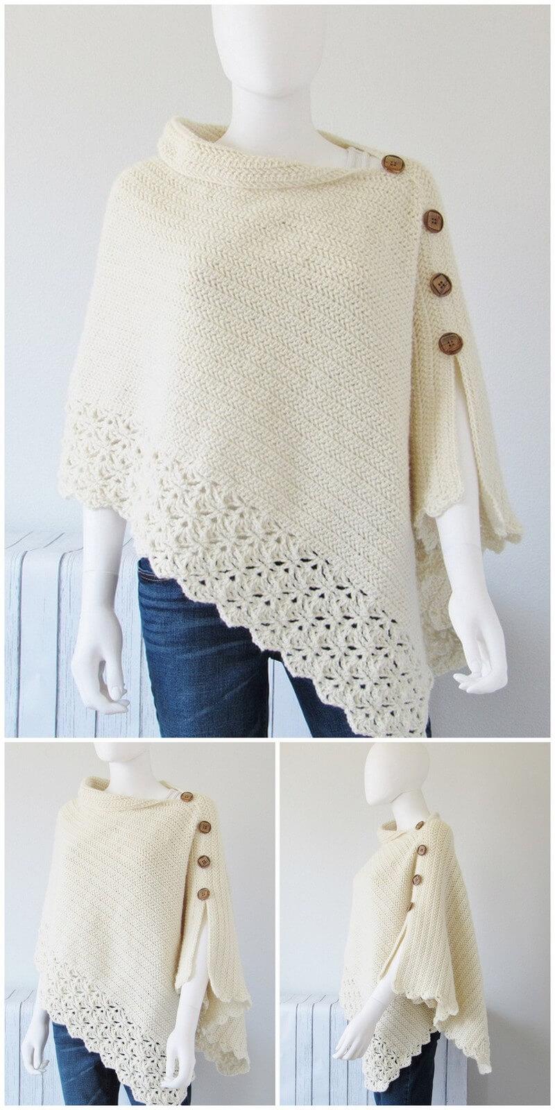 Crochet Poncho Pattern (35)