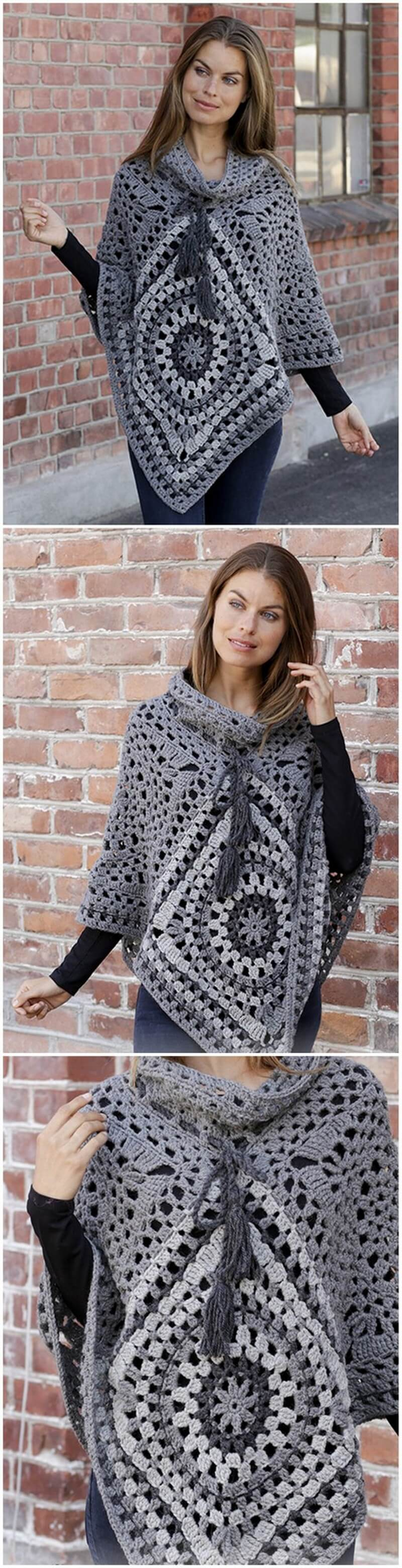 Crochet Poncho Pattern (41)