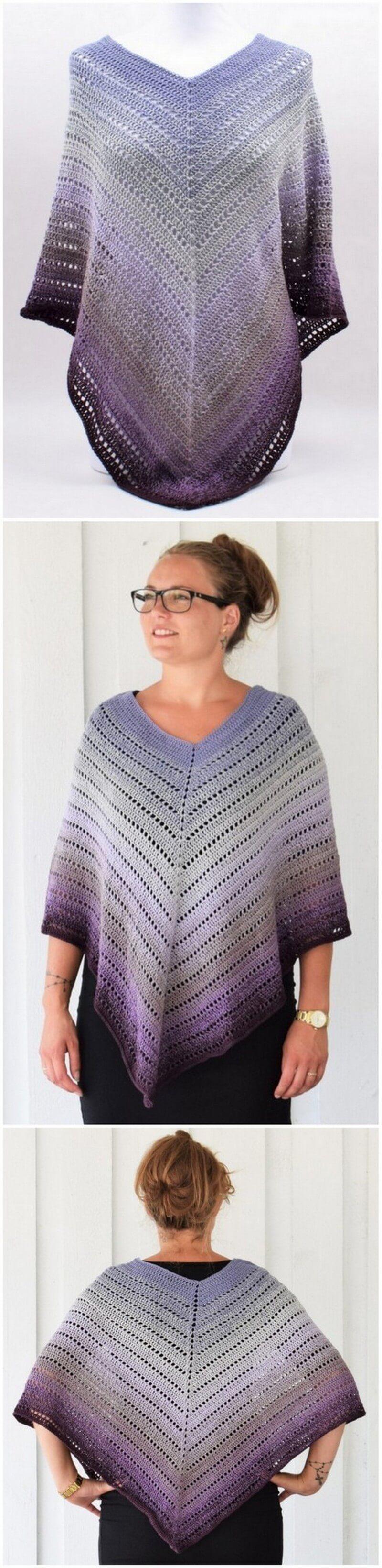Crochet Poncho Pattern (43)